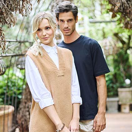 Der Pullunder von Mioni by Pink Lifestyle GmbH ist das perfekte Herbst-Accessoire.